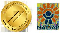 JCAHO & NATSAP Certification Seals
